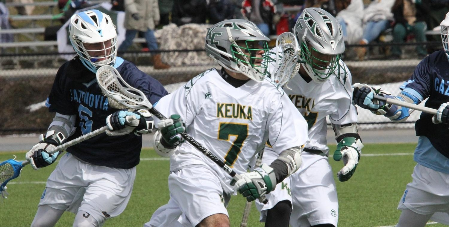 Kasey Gallina (7) scored the game-winning goal for Keuka College -- Photo by Ed Webber