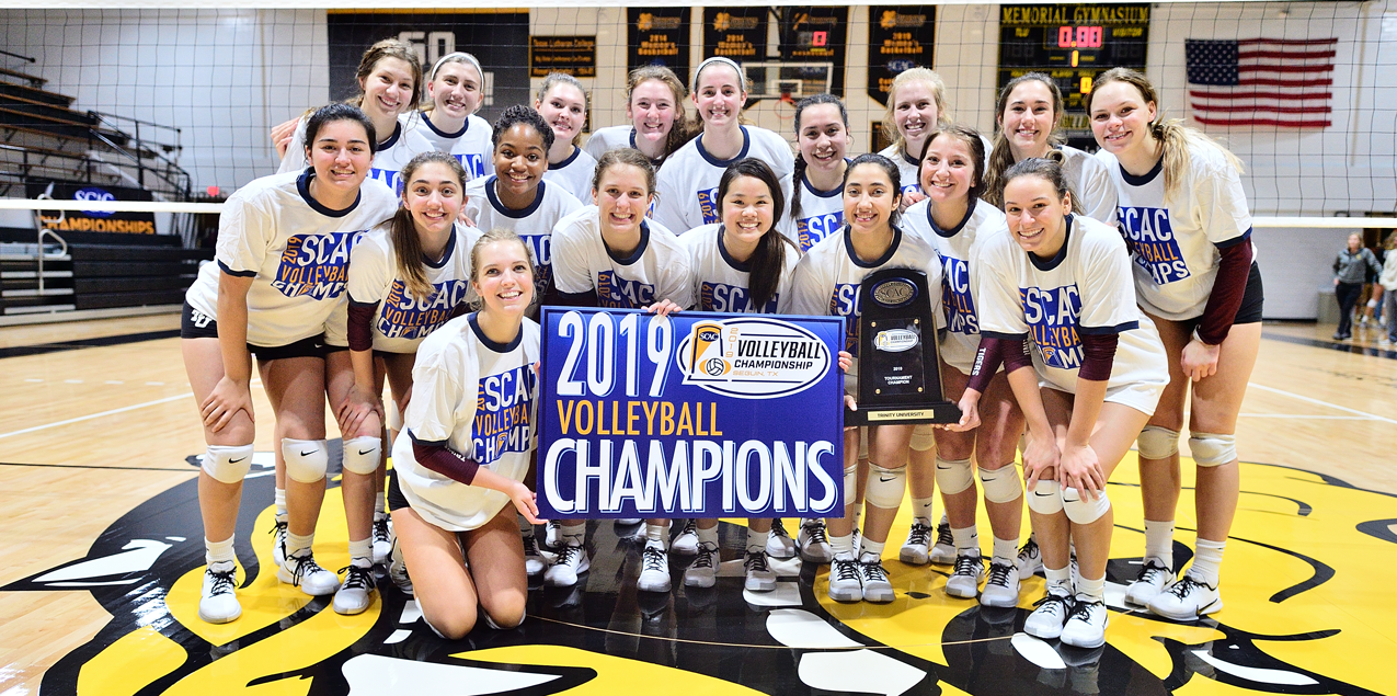 Trinity Secures SCAC Volleyball Crown with 3-1 Victory over Colorado College