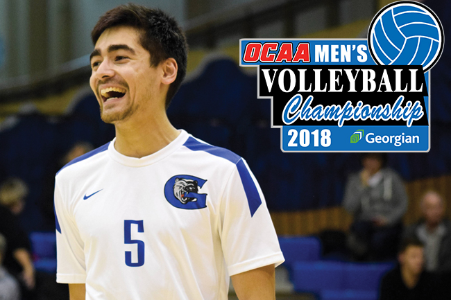 GEORGIAN TO HOST 2018 OCAA MEN'S VOLLEYBALL CHAMPIONSHIP