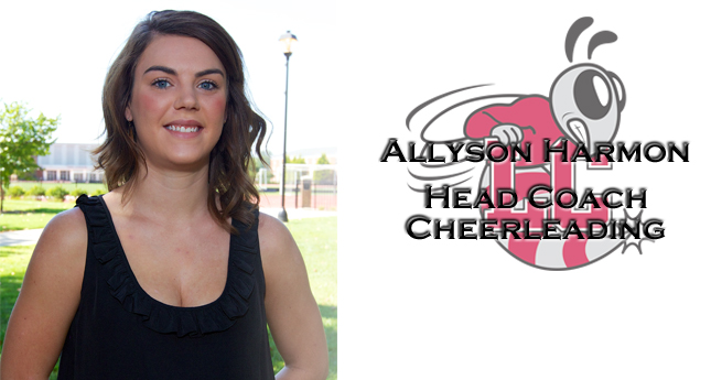Allyson Harmon Named New Cheerleading Head Coach at Lynchburg College