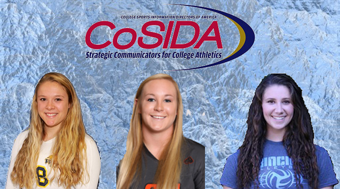 Howard, Lueking, and Rountree Named CoSIDA Academic All-District