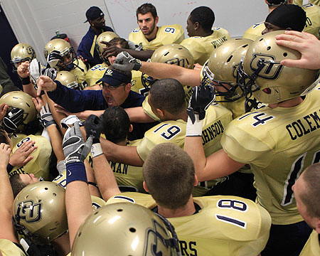 Gallaudet University's football schedule released for 2012 season