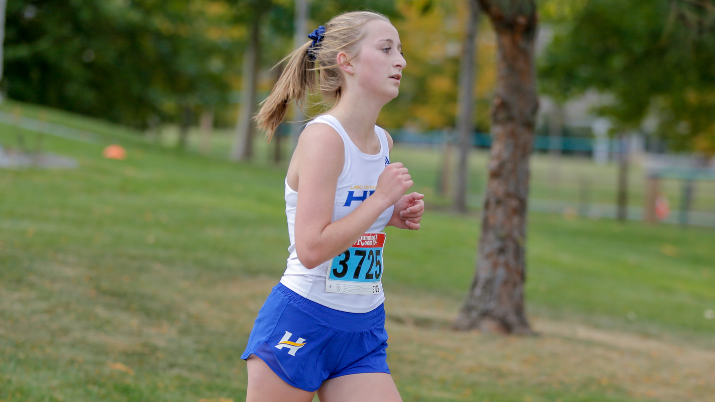 Kate Milne will be one of three first-year runners racing at the upcoming Canada West championships.
