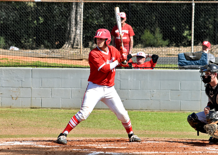 Coleson Taylor drove in one run in Tuesday's loss at Rhodes College.