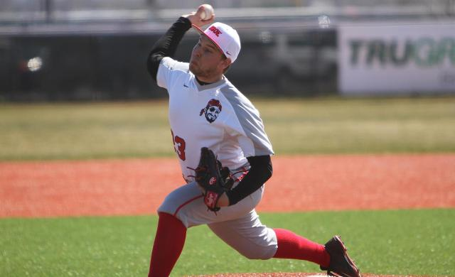 Boehmer Pitches Baseball Past Dominican in NACC Tourney