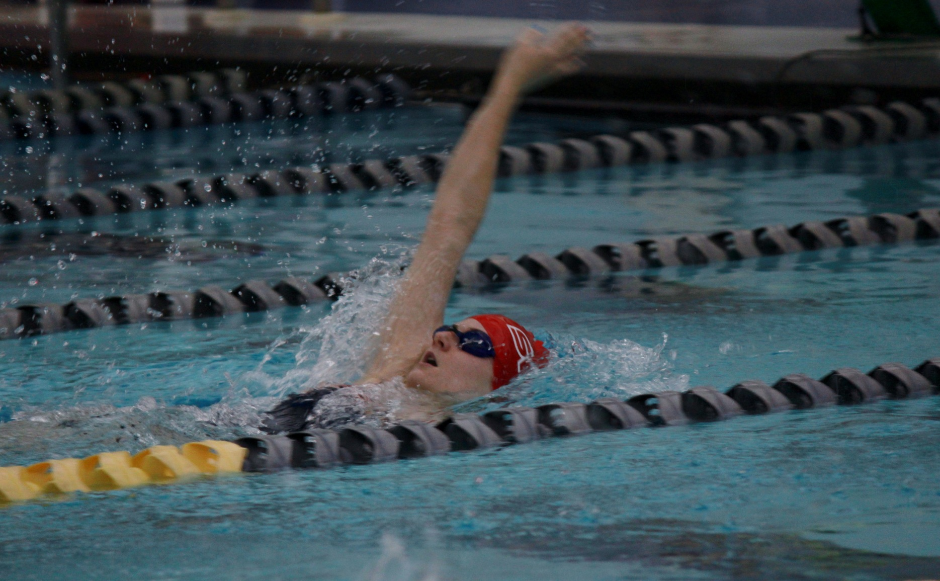 Swim & Dive leads after second day at Wabash Invite