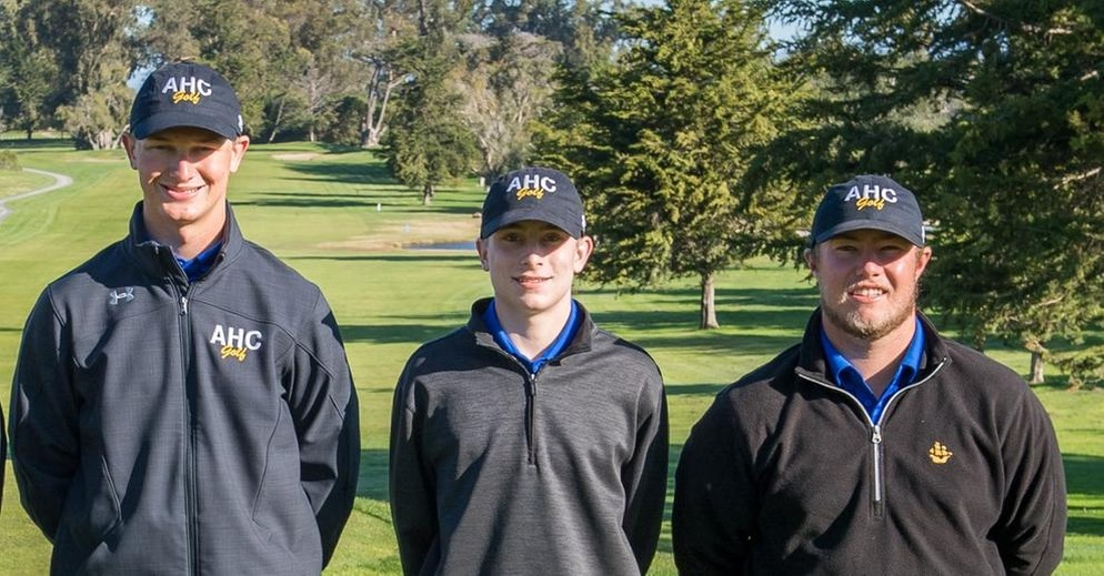 Three Hancock Golfers Compete at Southern California Regionals