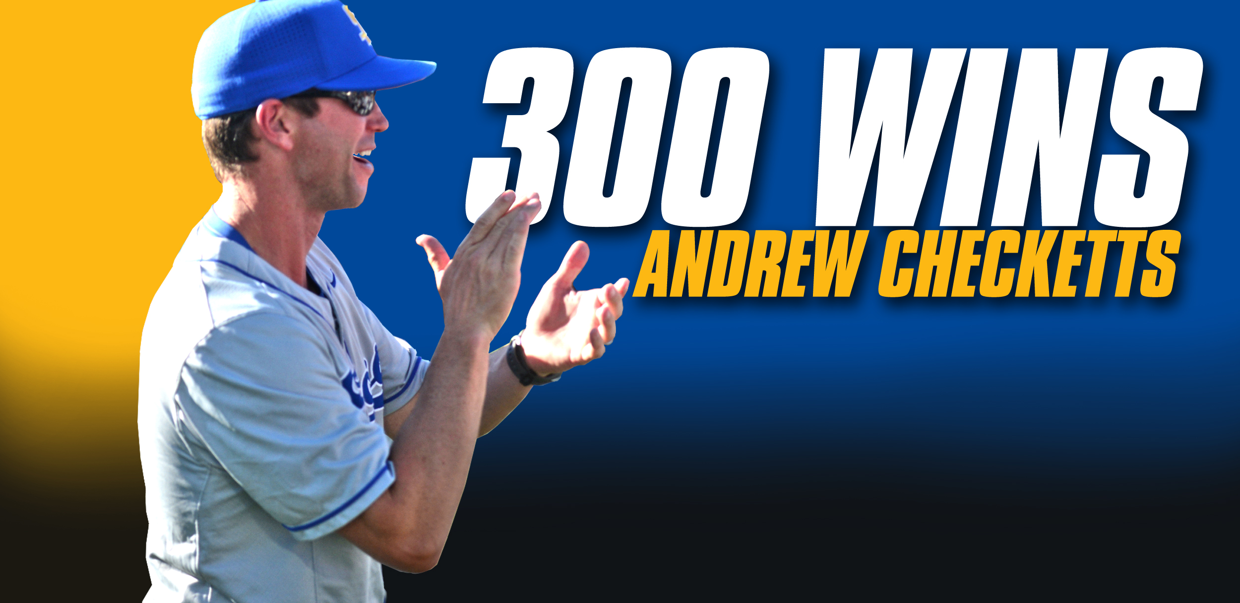 Checketts Earns 300th Win; No. 21 Gauchos Split Doublehader
