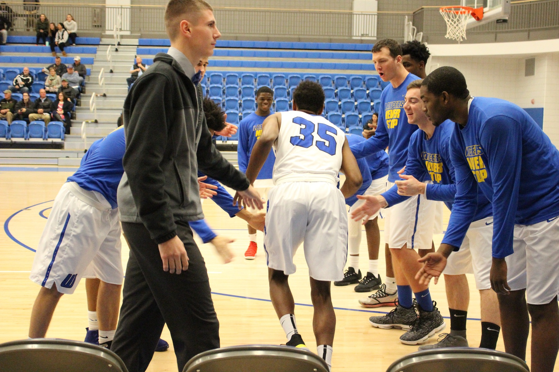 Watkins Registers Worcester State Record-High 10 Triples in Lancers' First Win of Season over Norwich