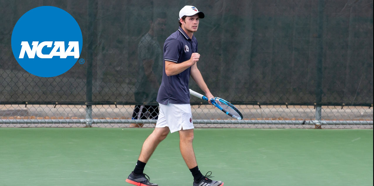 No. 13 Trinity Men's Tennis Blanks No. 26 Whitman in NCAA Second Round