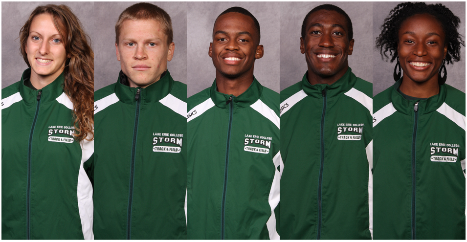 Five alive: Lake Erie sends quintet to nationals