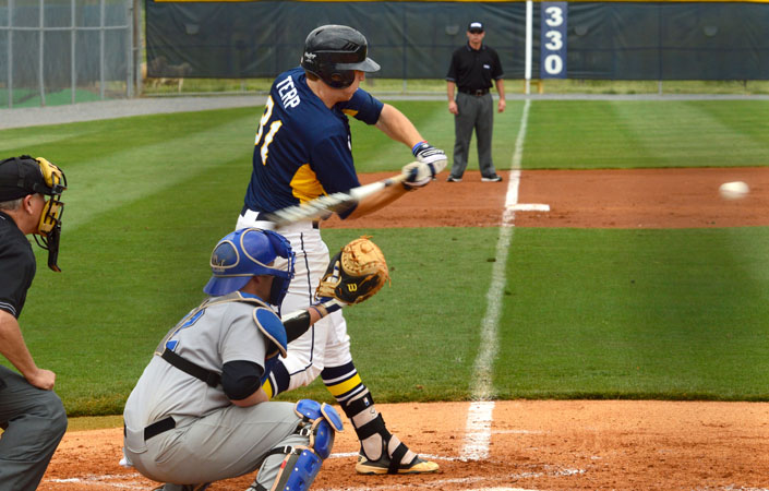 Baseball Rallies to Win Game One in Doubleheader at NC Wesleyan