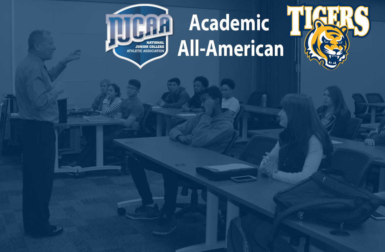 Record 20 Tigers Earn NJCAA Academic Honors