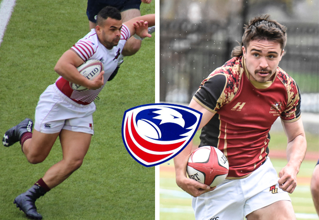 Nate Rolling and Keegan Frick USA Rugby Collegiate 7s All-Americans