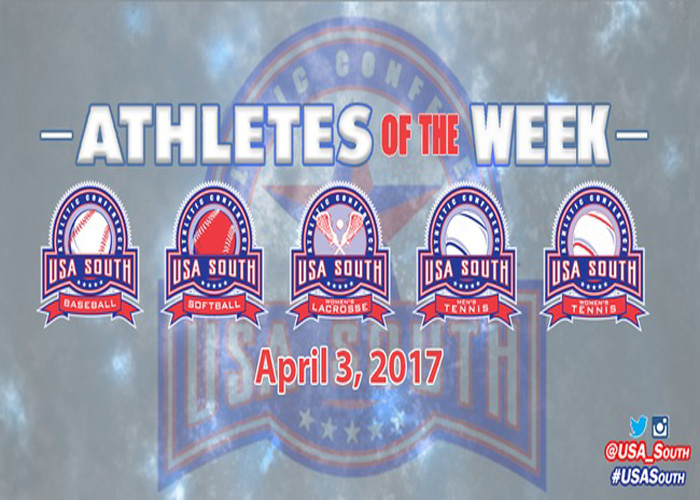 Catala named USA South Athlete of the Week