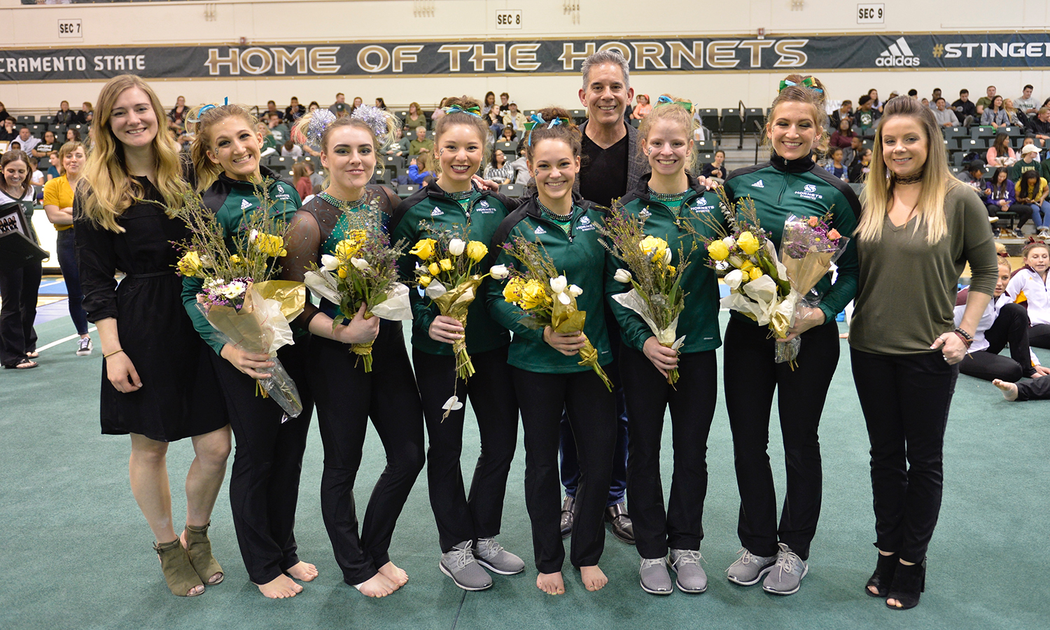 SENIORS LEAD THE WAY FOR GYMNASTICS IN FINAL HOME MEET OF THE YEAR