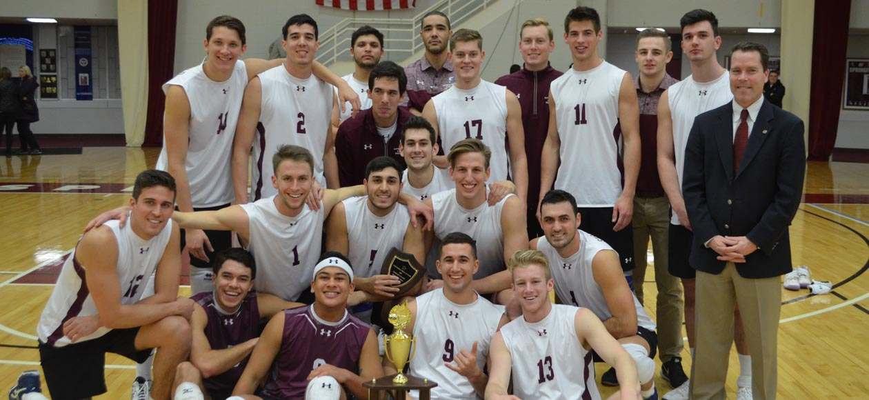 No. 1 Men's Volleyball Captures Second-Straight International Volleyball Hall of Fame Morgan Classic