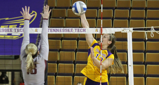 Tech volleyball team defeated in final road game of the year at EIU