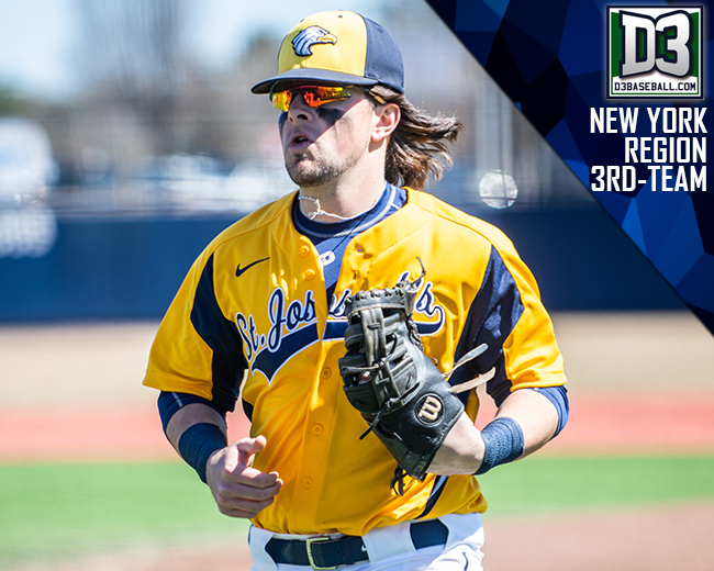 Britt Rakes in D3baseball.com All-New York Region Honors