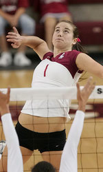 No. 22 Santa Clara Volleyball Edged 3-2 By UC Santa Barbara