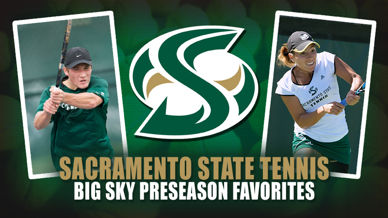 BOTH MEN'S AND WOMEN'S TENNIS TABBED FAVORITES IN BIG SKY PRESEASON POLL