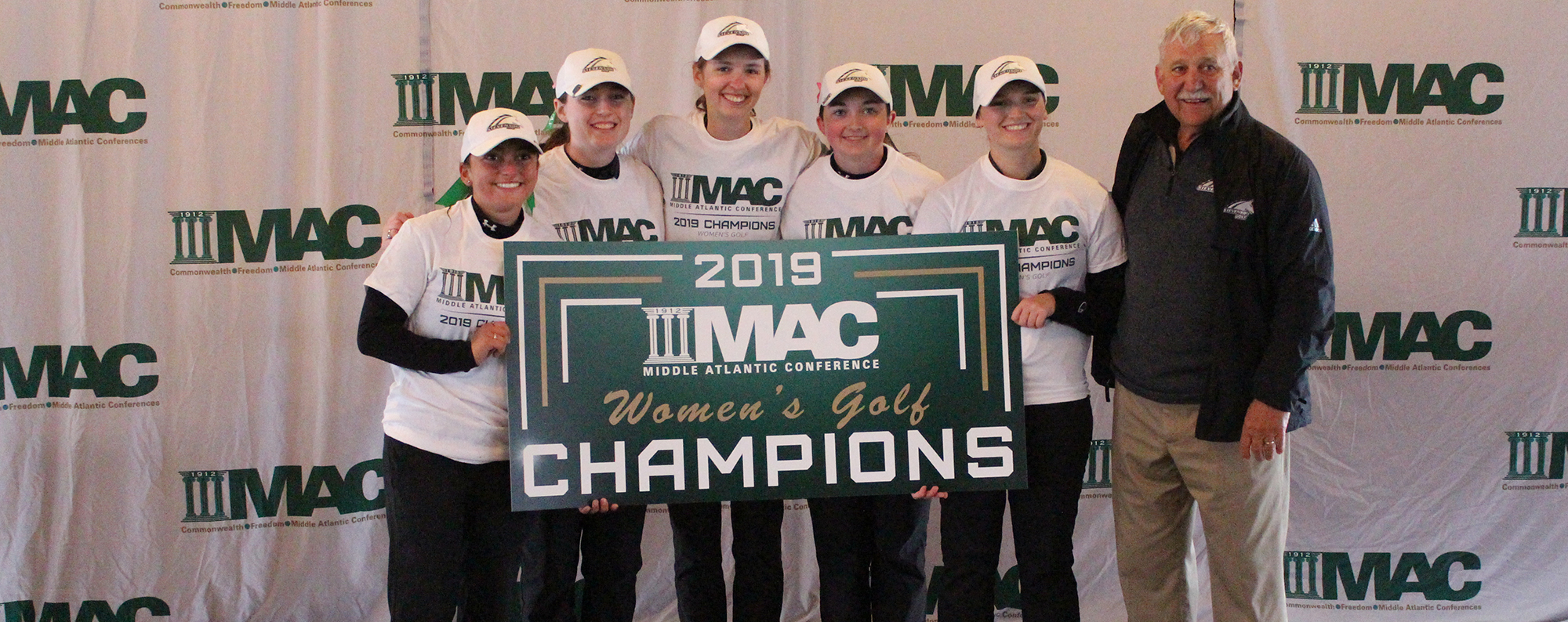 Women's Golf Wins Third MAC Championship, Kline Takes Individual Title