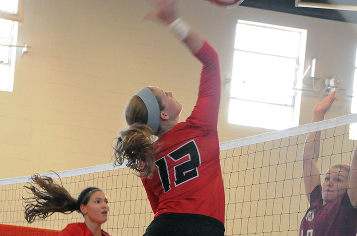 Volleyball: Panthers split matches at USA South Quad Match on Sunday