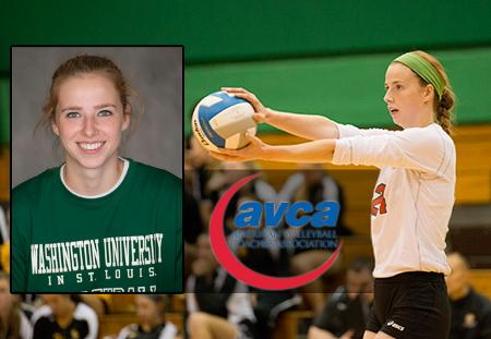 Caroline Dupont of Washington University Named AVCA DIII National Player of the Week