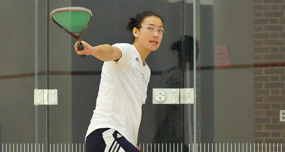 Squash Posts 9-0 Victory at Smith