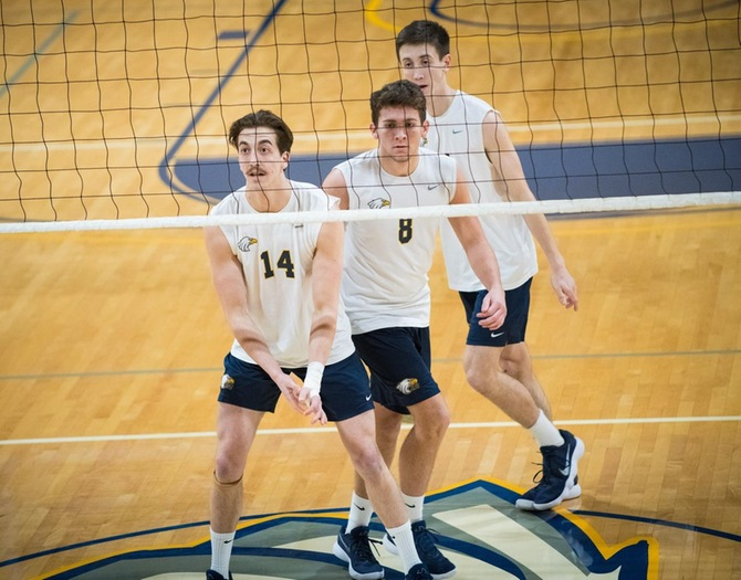 Men's Volleyball Takes Down Lehman