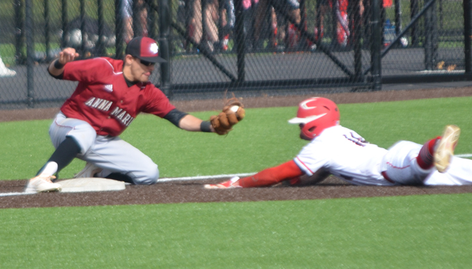 Cougars Claw to 12-2 win over Baseball