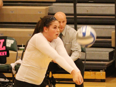 Lake Erie Falls in Four Sets in GLIAC/GLVC Crossover Opener