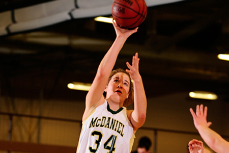 McDaniel escapes with 67-66 victory over Johns Hopkins