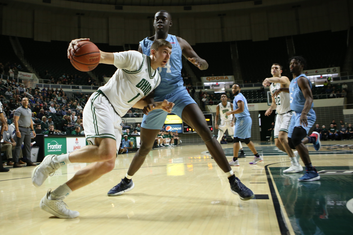 Ohio Men's Basketball Drops Contest at Bowling Green