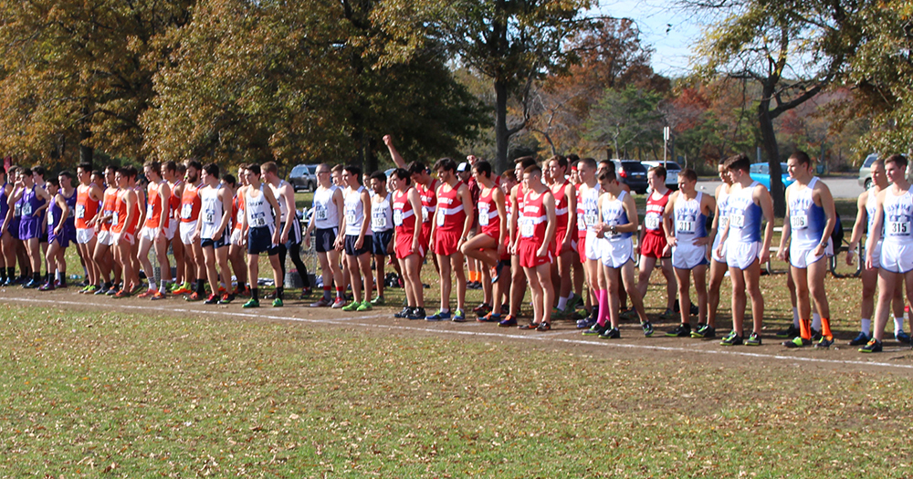 Men's Cross Country Races at Gettysburg Invitational
