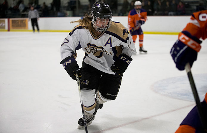 Women's Ice Hockey Completes Weekend Series with Loss to Division I Sacred Heart