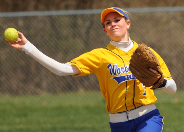 Cordio, Everson Earn MASCAC Weekly Softball Accolades