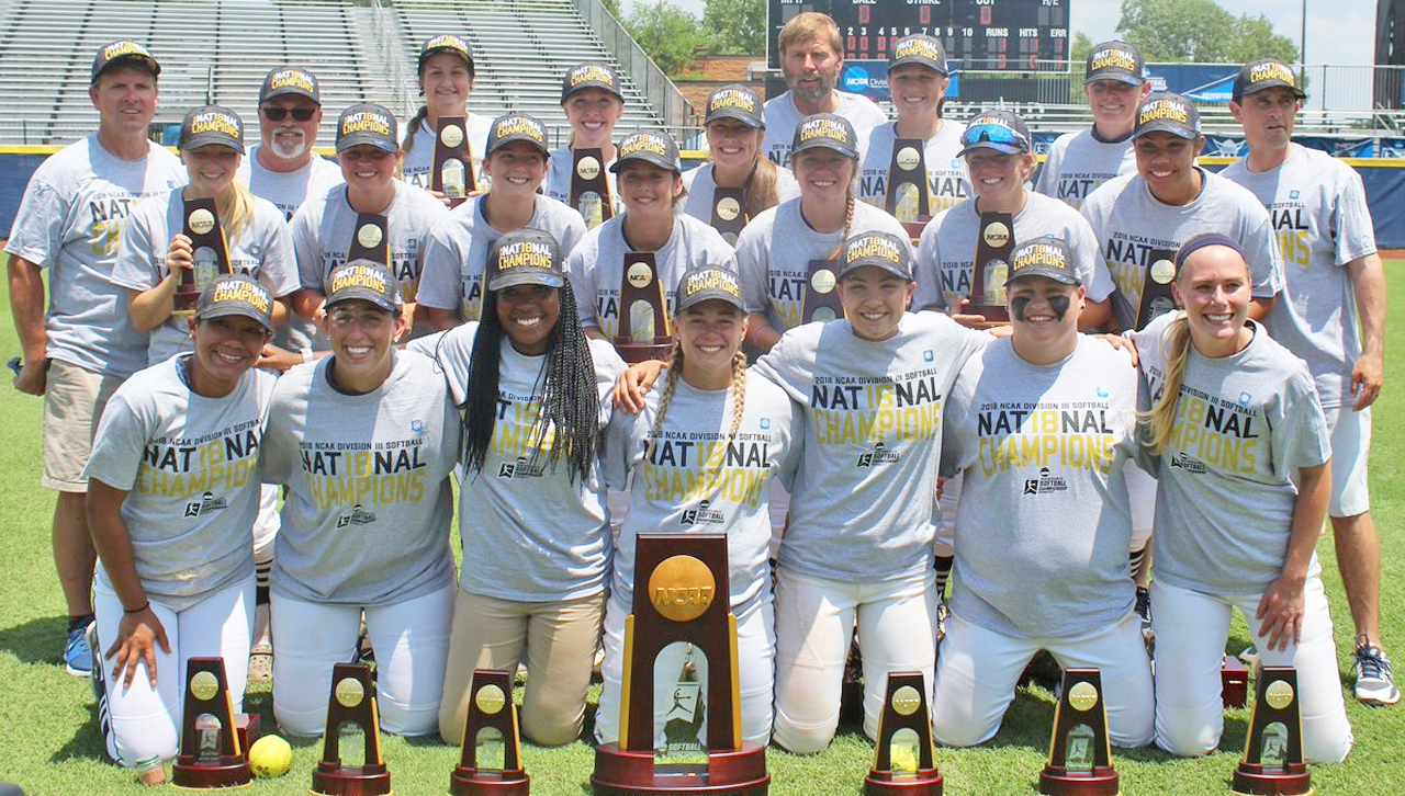 Virginia Wesleyan won its second straight NCAA Division III Softball Championship title on Tuesday afternoon as the Marlins topped Illinois Wesleyan University, 3-1.