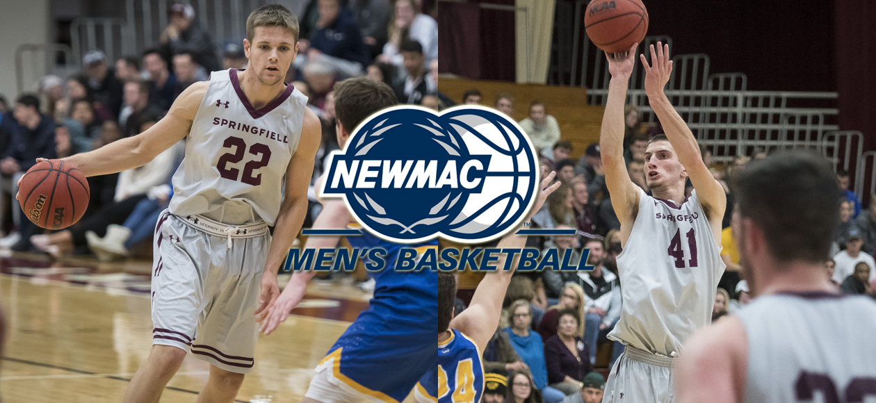 Ross Named NEWMAC Men's Basketball Athlete of the Year and Co-Defensive Athlete of the Year; Joins Post On All-Conference Team