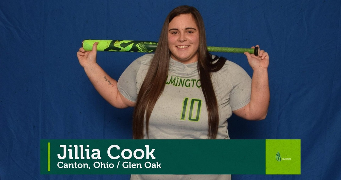 Spring Senior Salute - Softball's Jillia Cook