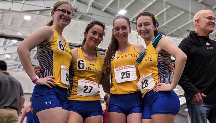 Women's Distance Medley Relay team