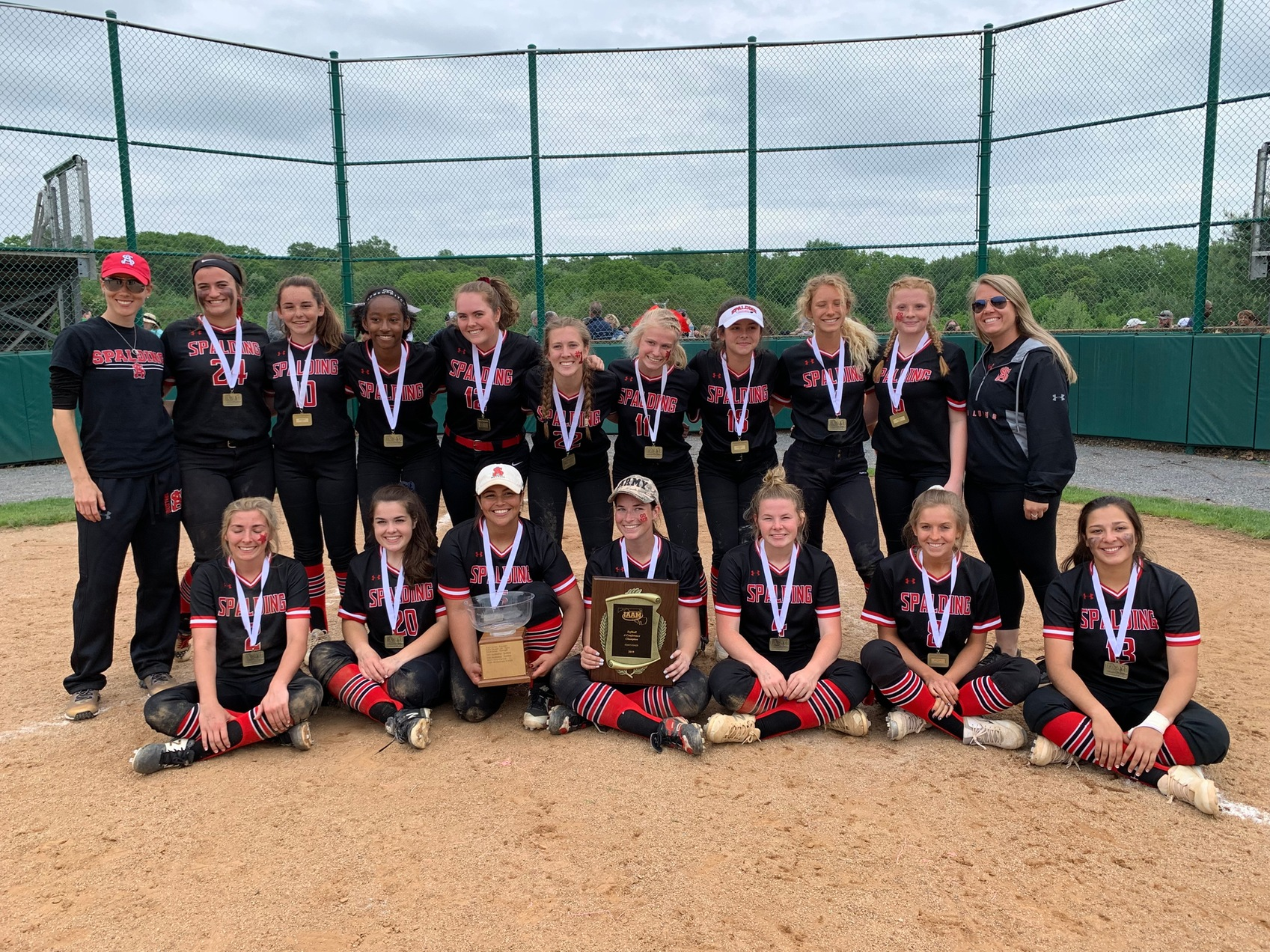 Spalding reigns in A Conference softball again