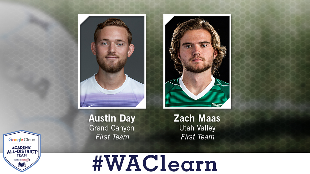 WAC Men's Soccer Duo Named Google Cloud Academic All-District