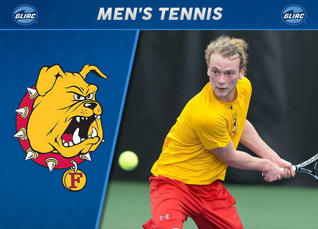 Ferris State's von Winning Earns GLIAC Men's Tennis Player of the Year