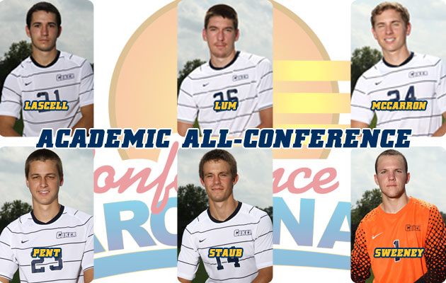 Coker Men's Soccer Has Six Land on Academic All-Conference