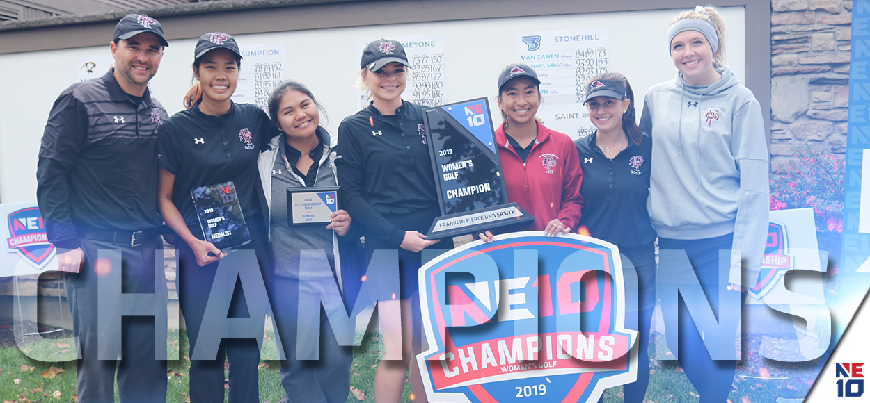 Embrace the Championship: Franklin Pierce Cruises to NE10 Women's Golf Title