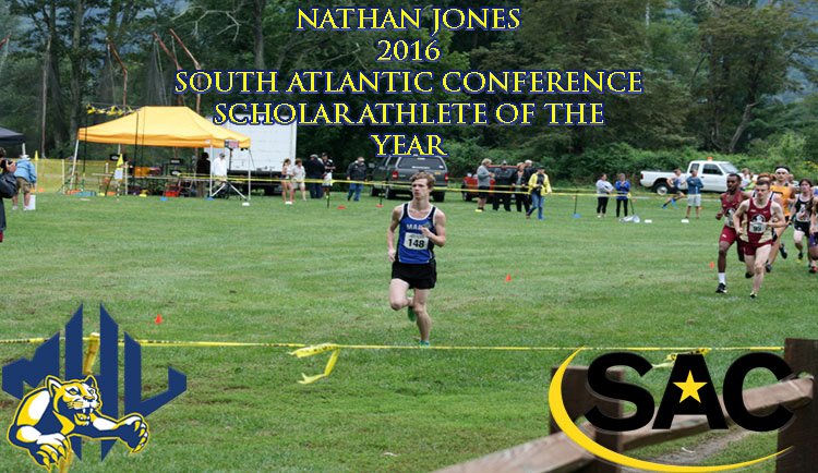 Jones Earns South Atlantic Conference Scholar-Athlete of the Year