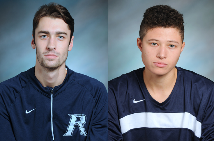 Francis, Butterfield named November Student-Athletes of the Month