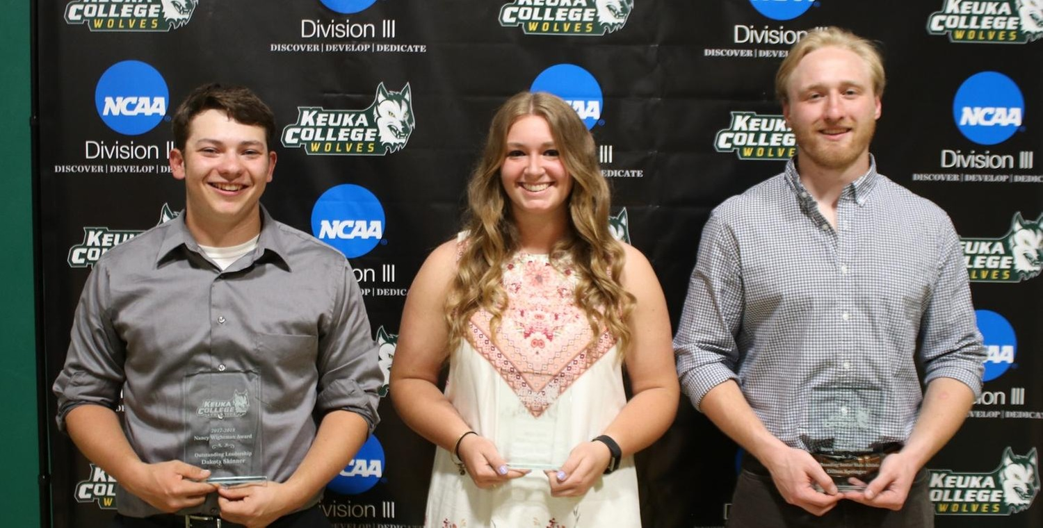 Left to Right: Dakota Skinner, Katelyn Warren, Dillon Springer