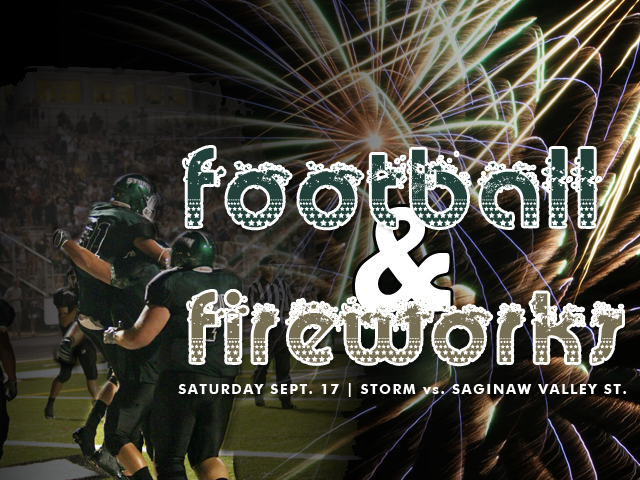 Second Annual Football & Fireworks Extravaganza Set for Saturday Night
